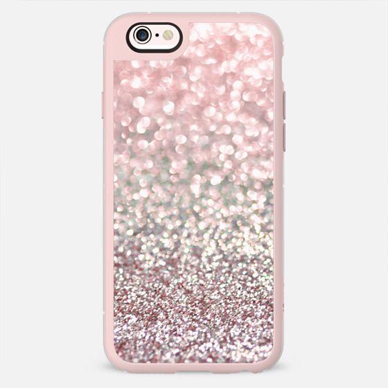 Girly Pink Snowfall -