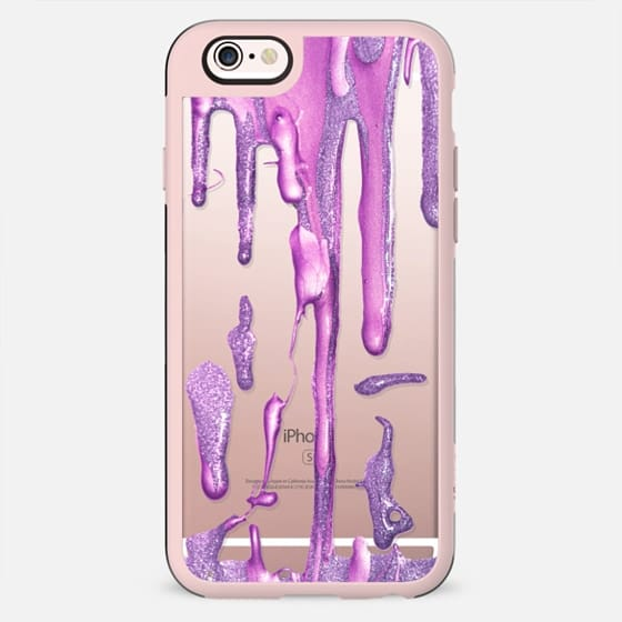 Drizzle Amethyst Berry (transparent) - New Standard Case