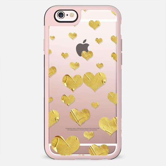 Showers of Love-Goldtone (transparent) - New Standard Case