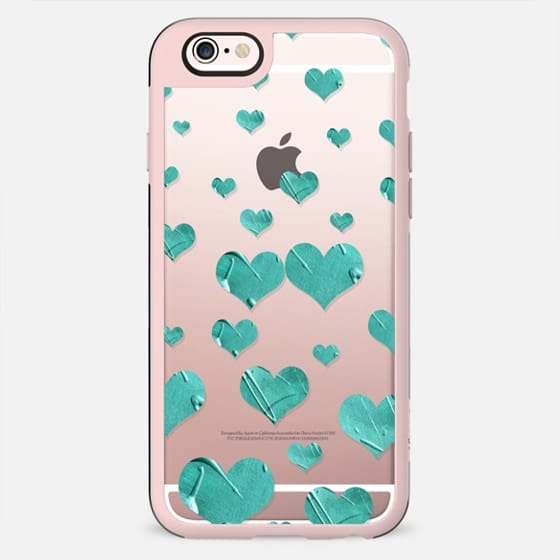 Showers of Love - Turquoise (transparent) - New Standard Case