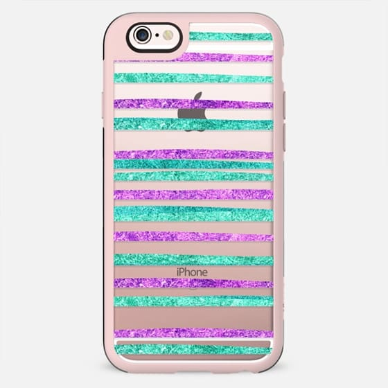Glamour Stripes Jewel (transparent) - New Standard Case