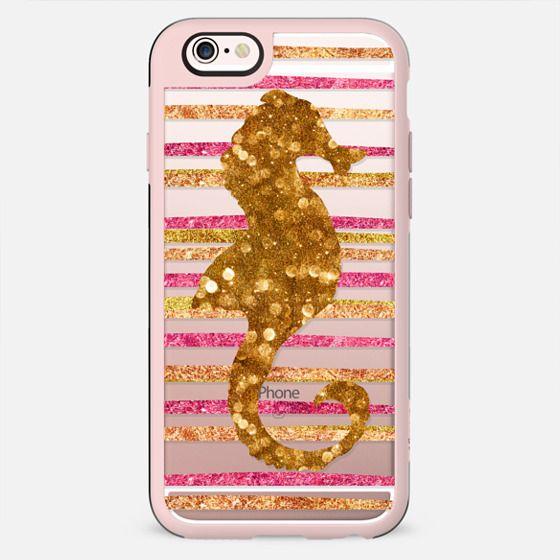 Glamour Seahorse Salsa (transparent) - New Standard Case