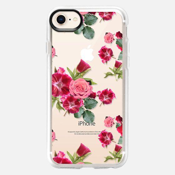 Sweet Pink Floral (transparent) - Snap Case