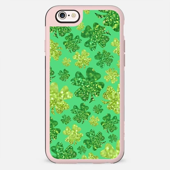 Shimmering Shamrocks (green) - New Standard Case