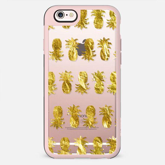 Golden Pineapple Stripes (transparent)