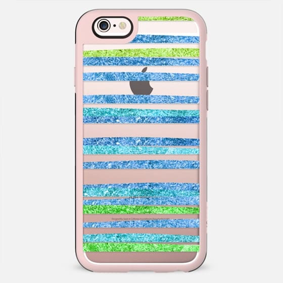 Glamour Stripes Ocean (transparent)