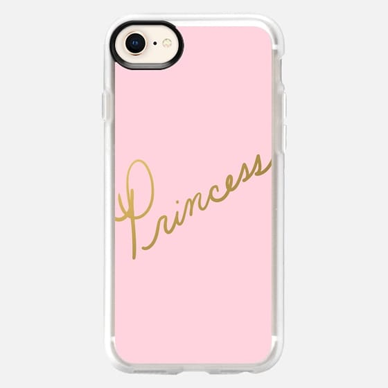 Princess (pink) - Snap Case