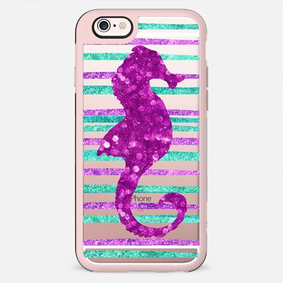 Glamour Seahorse Jewel (transparent) - New Standard Case