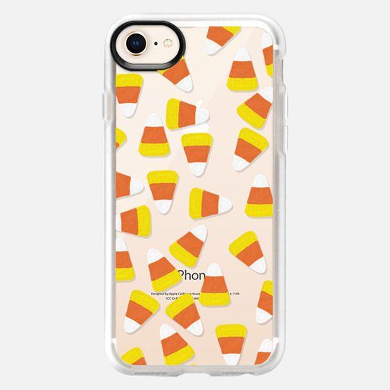 Candy Corn Jumble Transparent - Snap Case