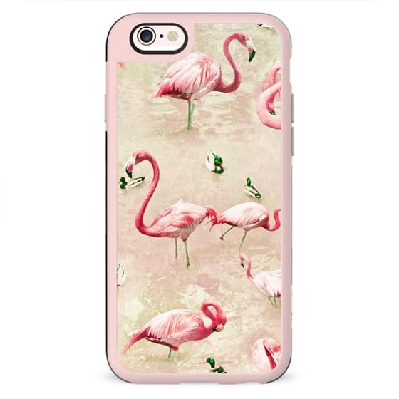 Flamingos Vintage Pink