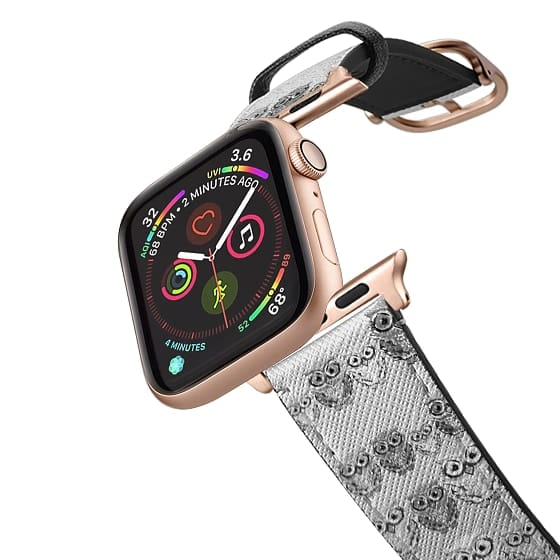 Apple Watch 42mm Bands - Tiny Hoots - Monochrome