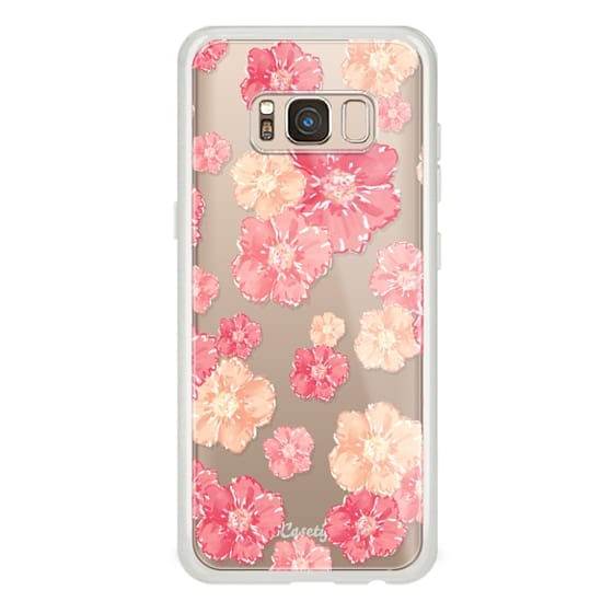 Samsung Galaxy S8 Cases - Blossoms (transparent)