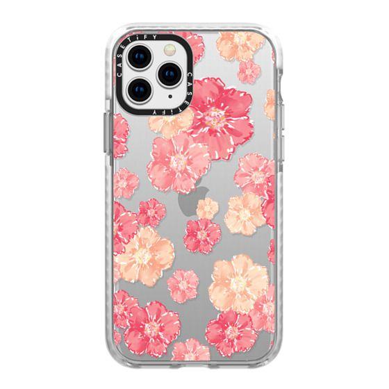 iPhone 11 Pro Cases - Blossoms (transparent)