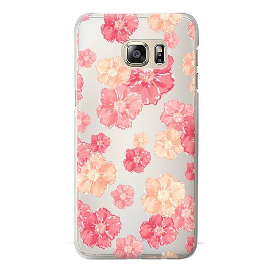 Samsung Galaxy S6 Edge Plus Cases - Blossoms (transparent)