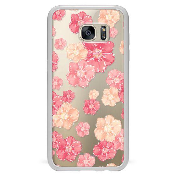 Samsung Galaxy S7 Edge Cases - Blossoms (transparent)