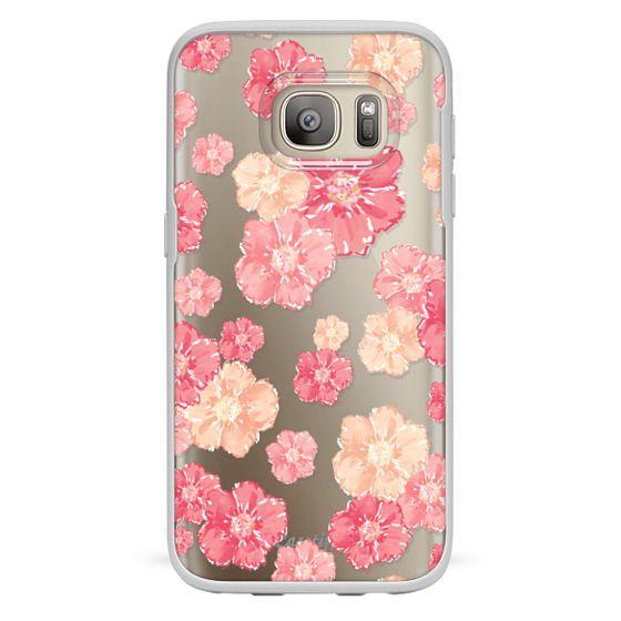 Samsung Galaxy S7 Cases - Blossoms (transparent)