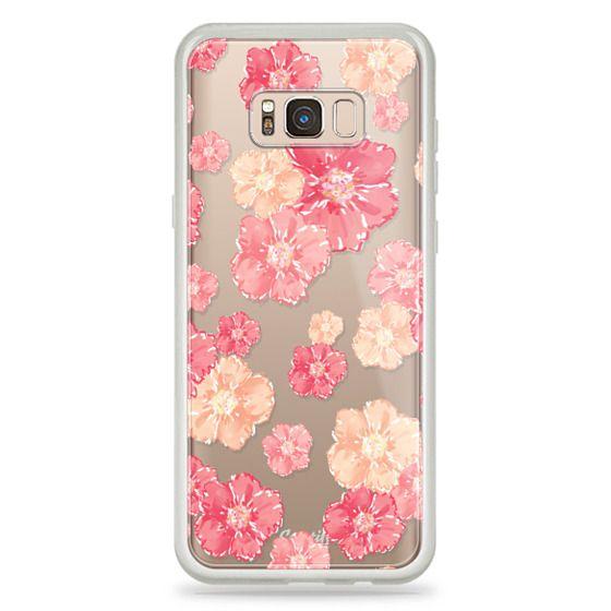 Samsung Galaxy S8 Plus Cases - Blossoms (transparent)