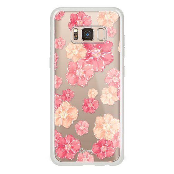 Samsung Galaxy S8 Cases - Blossoms (transparent)