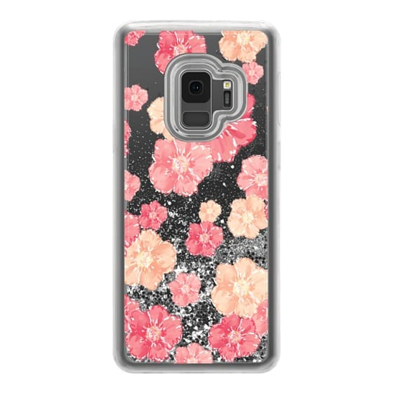 Samsung Galaxy S9 Cases - Blossoms (transparent)