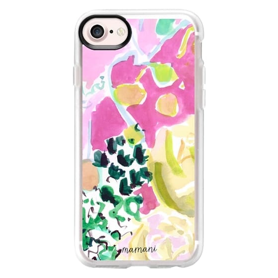 iPhone 7 Cases - Watercolor Floral: Marnani Design Studio