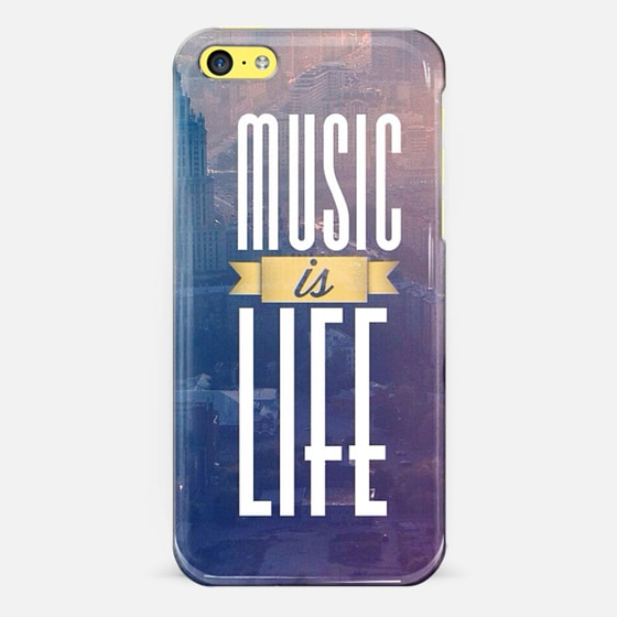 Music is Life - Classic Snap Case