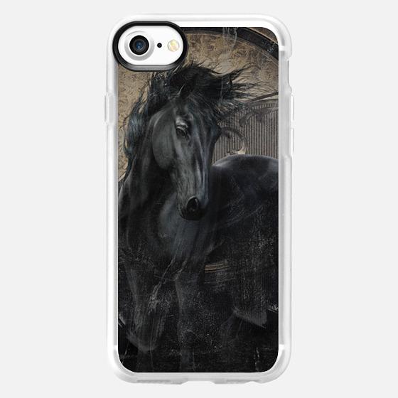 Gothic Friesian Horse - Wallet Case