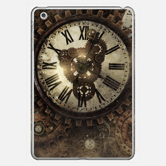 Vintage Steampunk clocks has the look of the old futuristic - Photo Cover