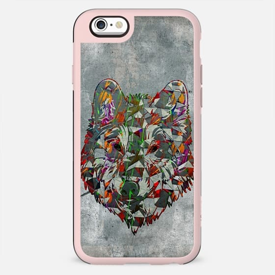 Abstract colorful wolf - New Standard Case