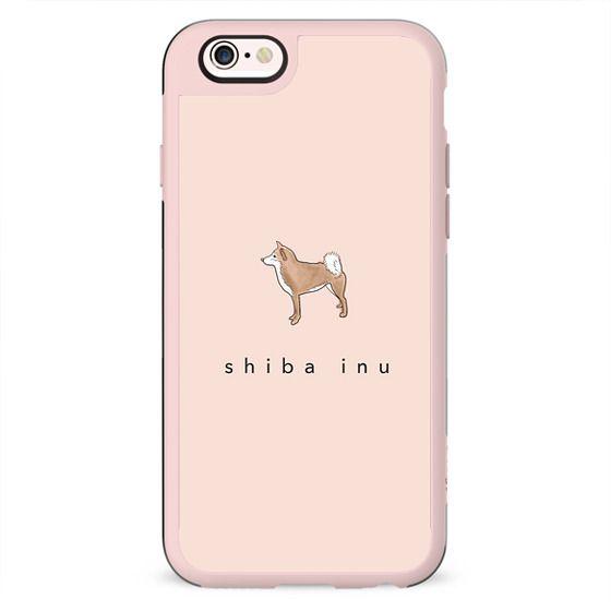 shiba inu in blush