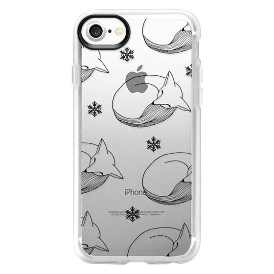 low priced 1058a 585b3 Impact iPhone XR Case - Sleepy Snowfox