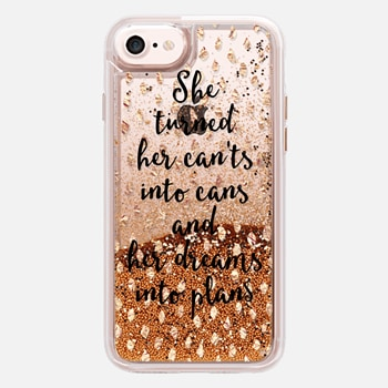 iPhone 7 Case She turned her dreams into plans