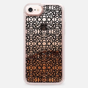 iPhone 7 Case Black Bold Lace