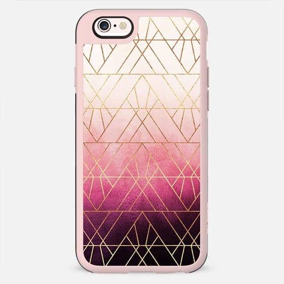 Pink Ombre Triangles - New Standard Case