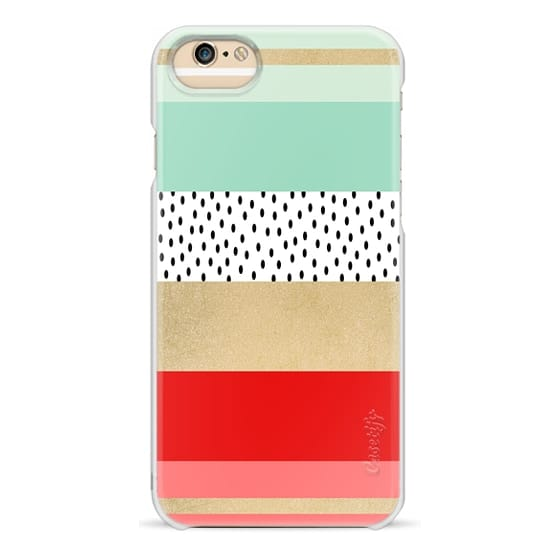 iPhone 6 Cases - Summer Fresh Stripes By Elisabeth Fredriksson