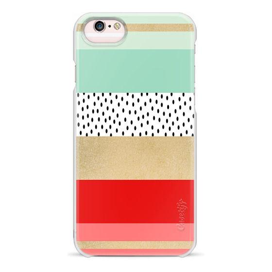 iPhone 6s Cases - Summer Fresh Stripes By Elisabeth Fredriksson