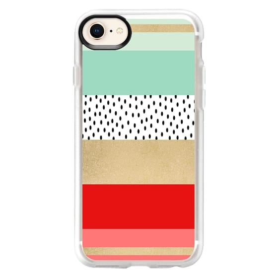 iPhone 8 Cases - Summer Fresh Stripes By Elisabeth Fredriksson