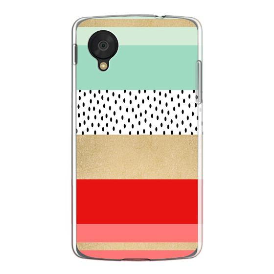 Nexus 5 Cases - Summer Fresh Stripes By Elisabeth Fredriksson
