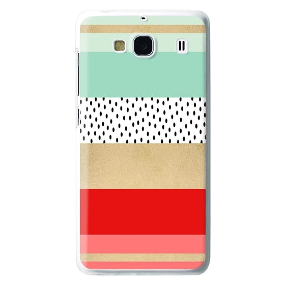 Redmi 2 Cases - Summer Fresh Stripes By Elisabeth Fredriksson