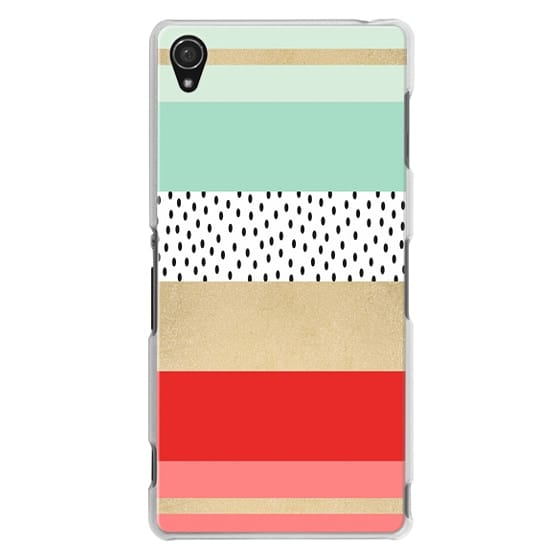 Sony Z3 Cases - Summer Fresh Stripes By Elisabeth Fredriksson