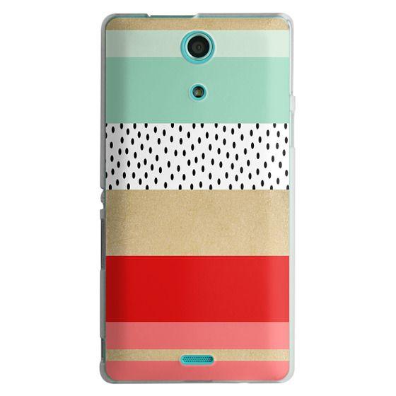Sony Zr Cases - Summer Fresh Stripes By Elisabeth Fredriksson