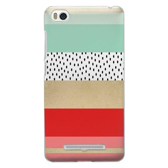 Xiaomi 4i Cases - Summer Fresh Stripes By Elisabeth Fredriksson