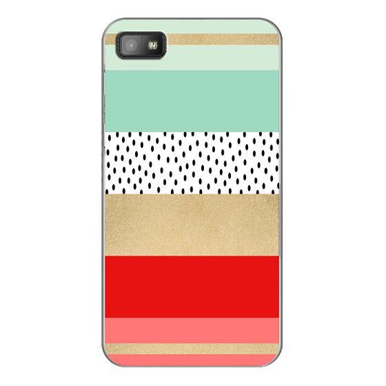 Blackberry Z10 Cases - Summer Fresh Stripes By Elisabeth Fredriksson