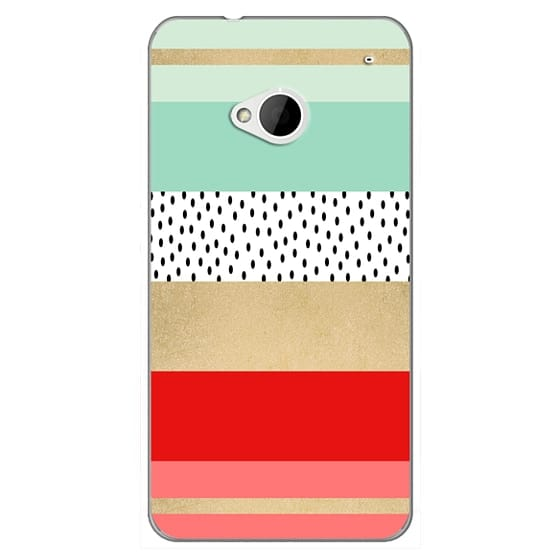 Htc One Cases - Summer Fresh Stripes By Elisabeth Fredriksson