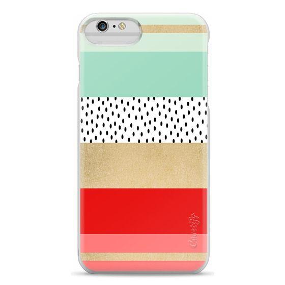 iPhone 6 Plus Cases - Summer Fresh Stripes By Elisabeth Fredriksson