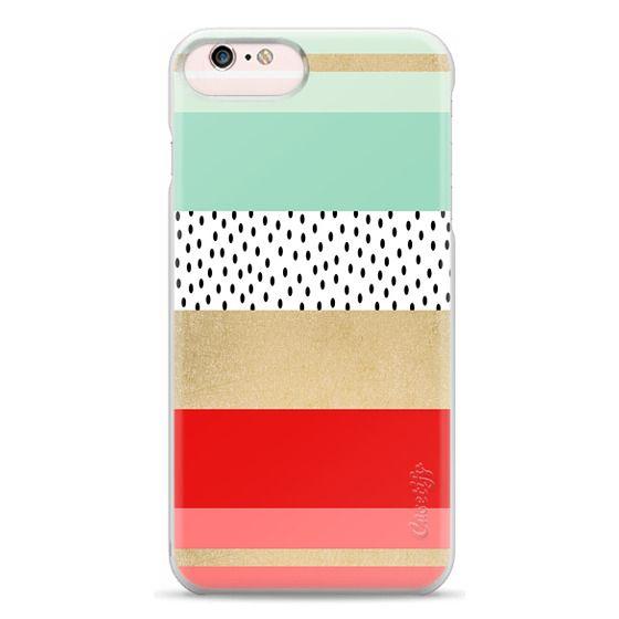 iPhone 6s Plus Cases - Summer Fresh Stripes By Elisabeth Fredriksson