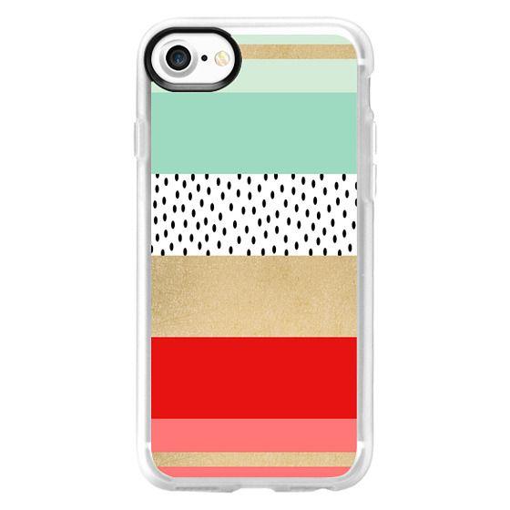 iPhone 7 Cases - Summer Fresh Stripes By Elisabeth Fredriksson