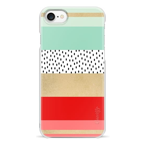 iPhone 7 Cases - Summer Fresh Stripes By Elisabeth Fredriksson