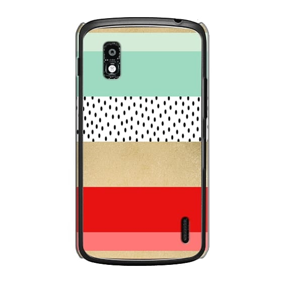 Nexus 4 Cases - Summer Fresh Stripes By Elisabeth Fredriksson