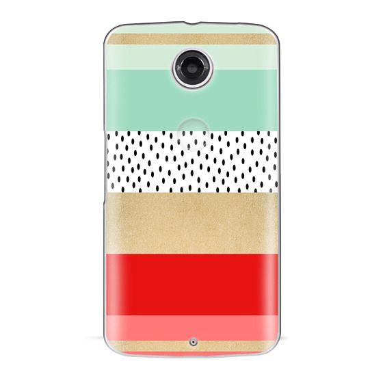Nexus 6 Cases - Summer Fresh Stripes By Elisabeth Fredriksson