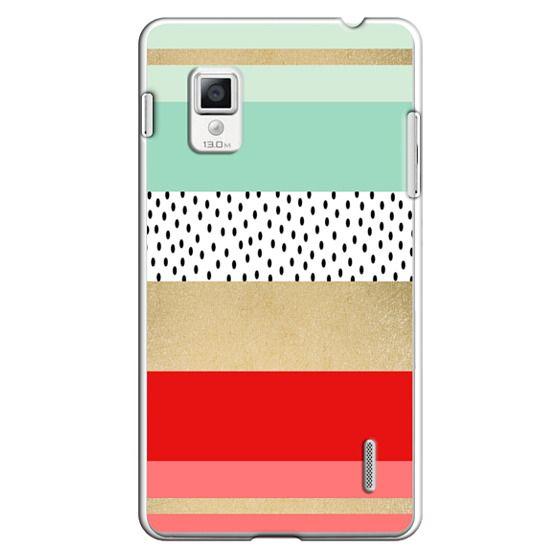 Optimus G Cases - Summer Fresh Stripes By Elisabeth Fredriksson